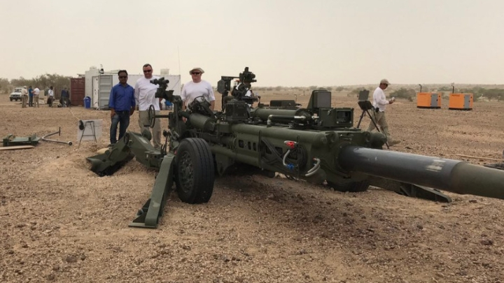 Indian Army Conducts Field Trial Of Newly Acquired M777 Howitzer In Pokhran