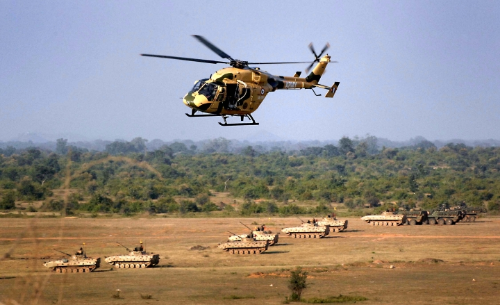 To Counter China, India To Deploy A Squadron Of   Armed Dhruv Helicopters In The North East