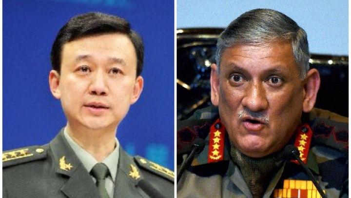Stop Clamouring For War: Chinese Military To General Rawat