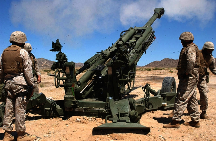 Watch: Indian Army Tests Its New Howitzer M-777 Guns