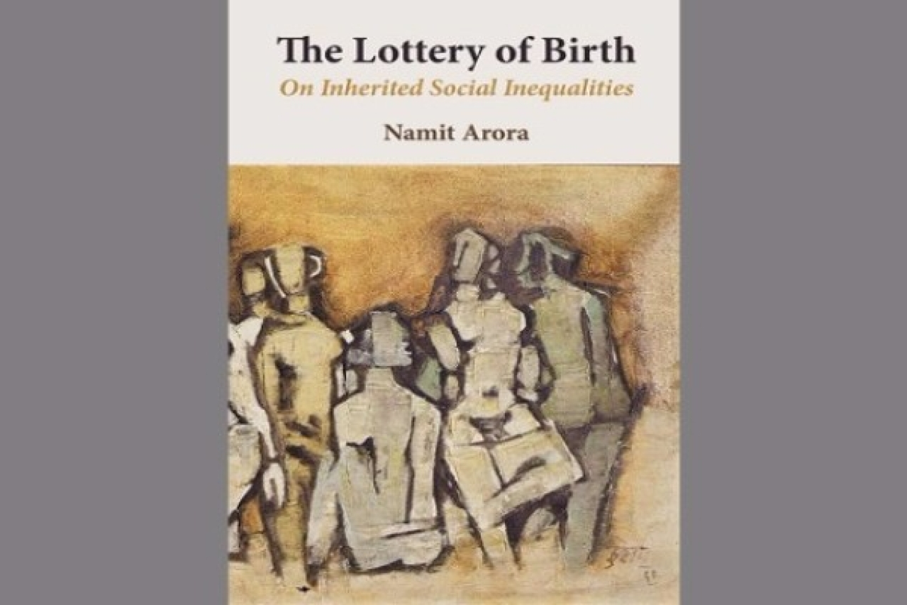 Book cover of <i>The Lottery of Birth: On Inherited Social Inequalities</i>