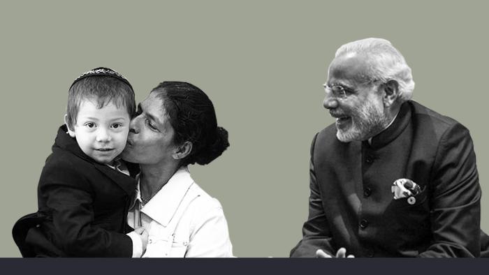 Watch: When Prime Minister Modi Met 'Baby' Moshe In Israel