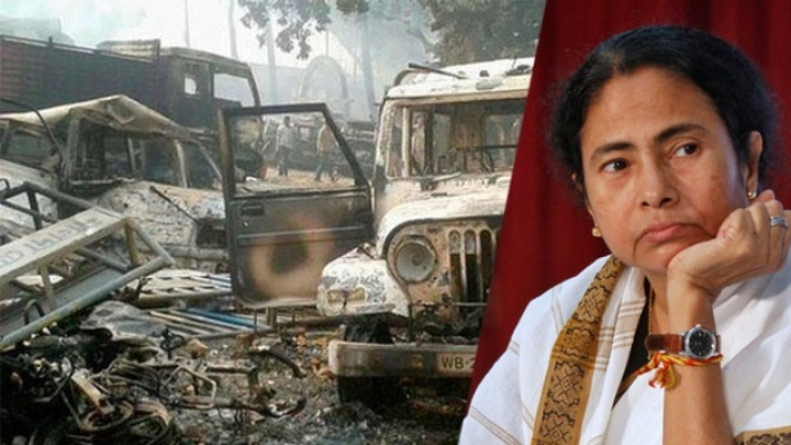 Facebook Post Sparks Islamist Mob Fury In Bengal; Cops Stay Cooped Up In Thana