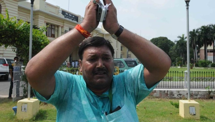 Bihar's Muslim Minister who chanted 'Jai Shri Ram' says 'Sorry'