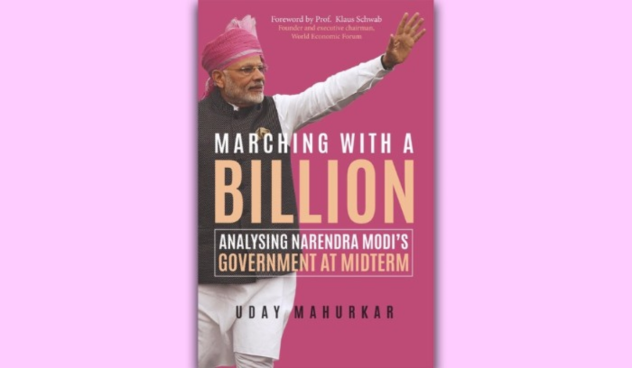 Cover of Uday Mahurkar's book <i>Marching with a Billion</i>