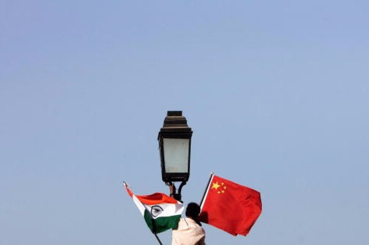 India-China ties. (Manan Vatsyayana/AFP/GettyImages)