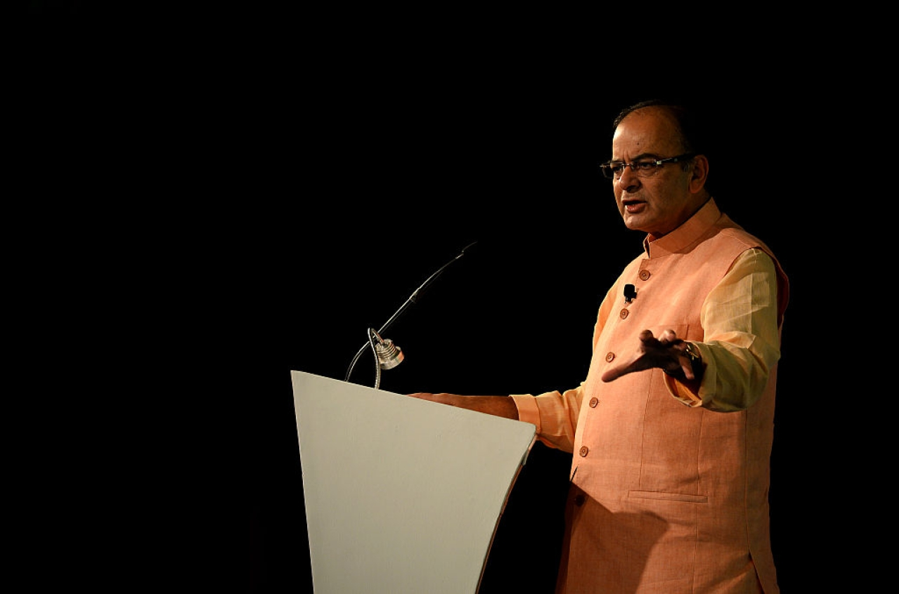 Finance Minister Arun Jaitley. (GettyImages)