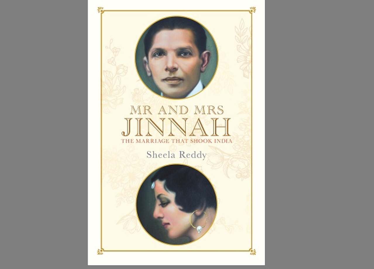 Book Cover of 'Mr And Mrs Jinnah: The Marriage That Shook India'