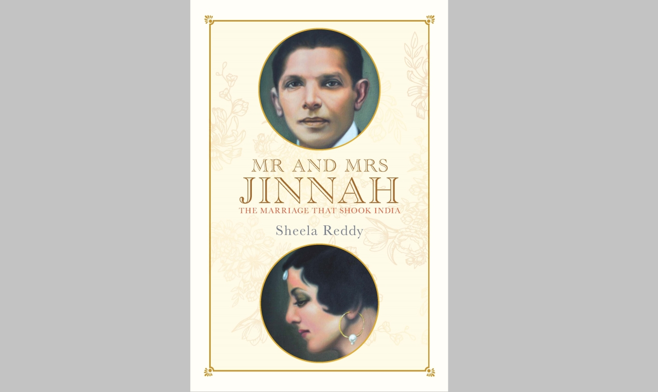 Book cover of <i>Mr and Mrs Jinnah: The Marriage That Shook India</i>