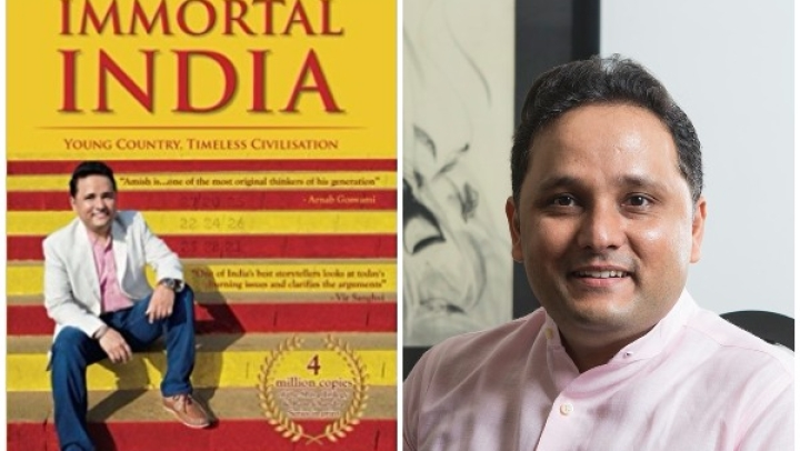 Watch: Amish Tripathi Discusses His Latest, 'Immortal India'