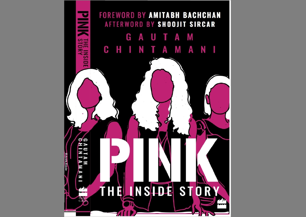 Cover of Gautam Chintamani's book <i>Pink: The Inside Story</i>