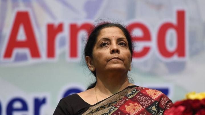 Defence Minister Nirmala  Sitharaman   Visits Tri-Service Command In Andaman And Nicobar