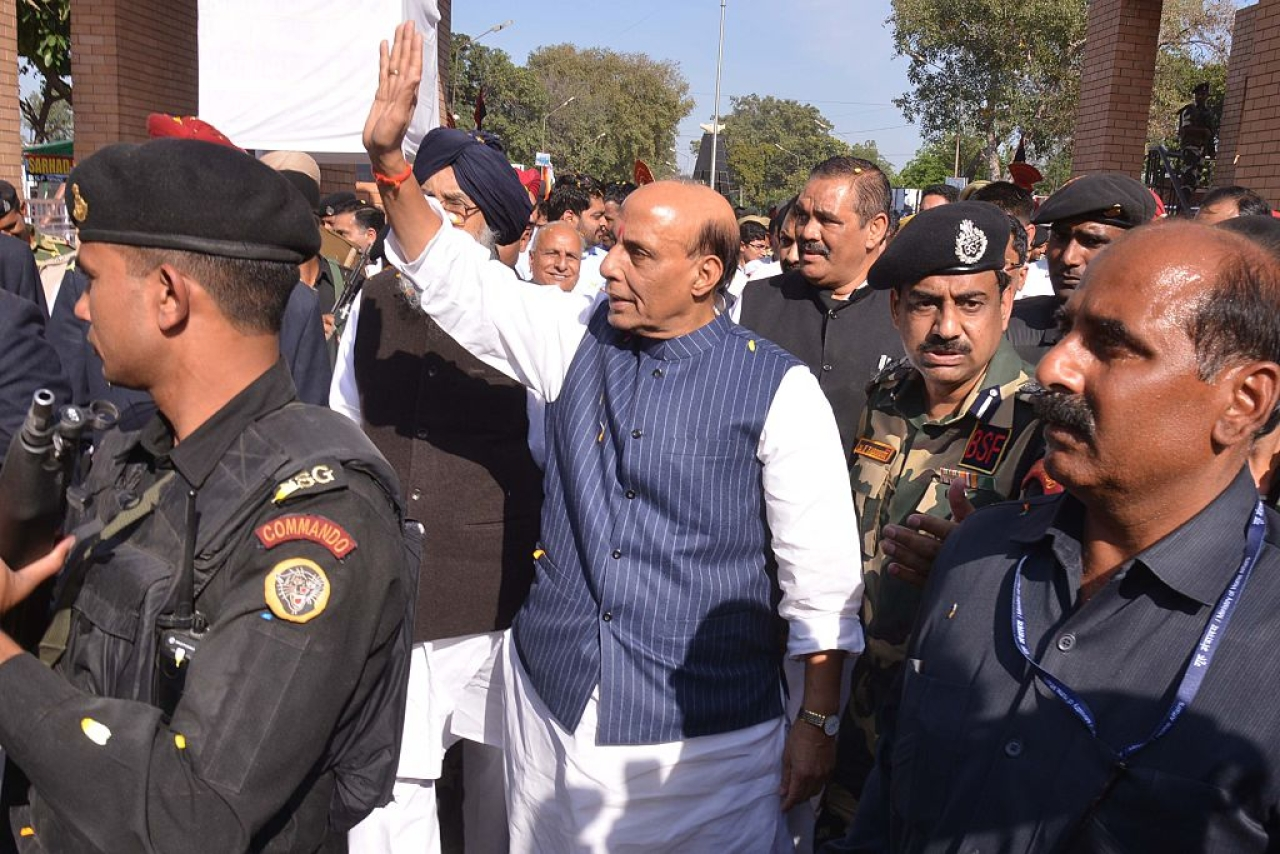 Union Home Minister Rajnath Singh. (NARINDER NANU/AFP/GettyImages)
