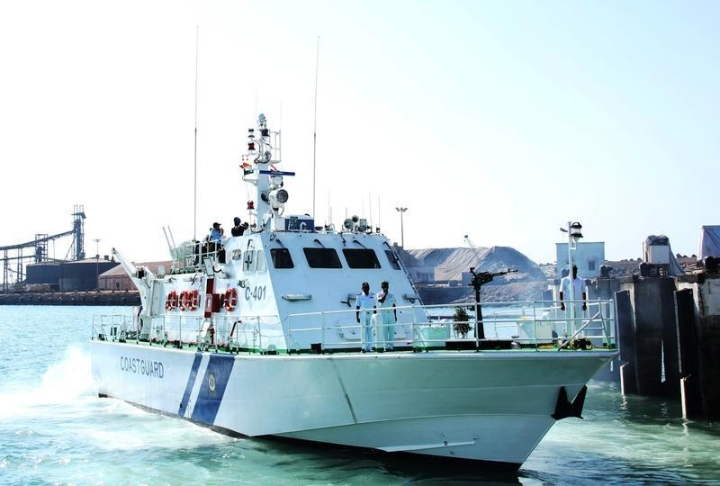Coast Guard Commissions Two High Speed Interceptor Boats