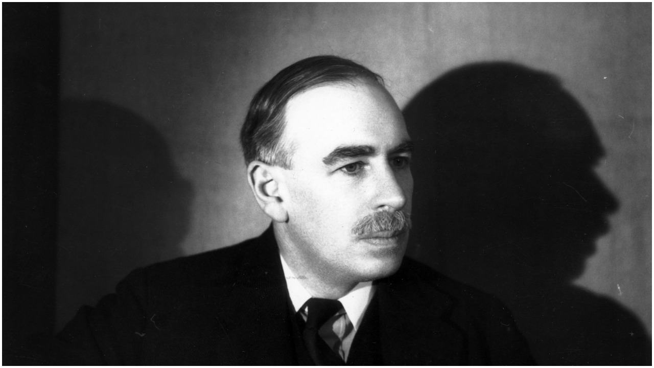 John Maynard Keynes (Gordon Anthony/Getty Images)