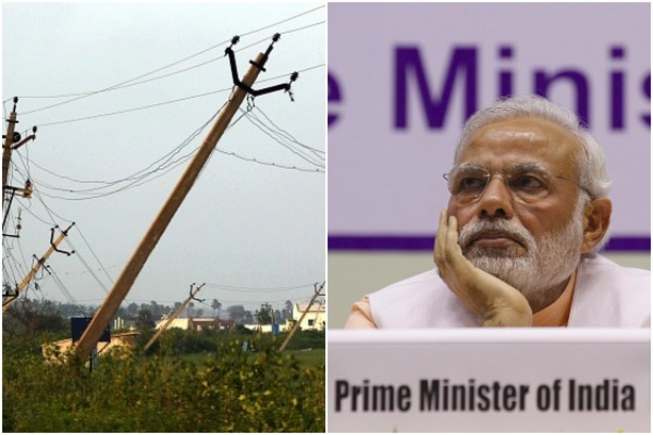 Rural Electrification (Left: Mahendra Parikh/Hindustan Times via Getty Images Right: Virendra Singh Gosain/Hindustan Times via Getty Images)