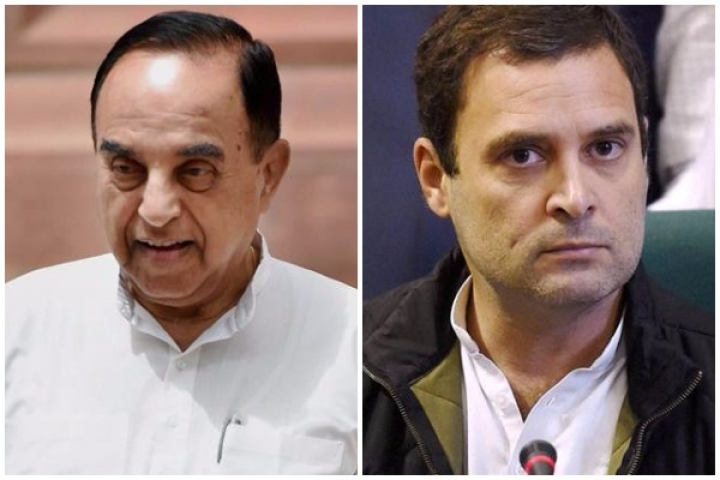 Swamy: 'Rahul Gandhi Must Be Stripped Of His Citizenship For Embracing British Nationality'