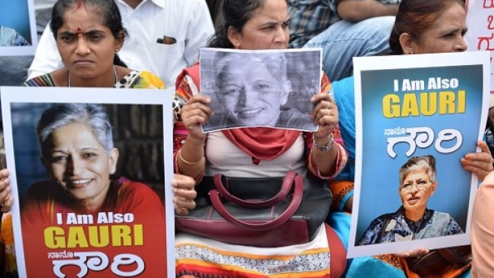Congress Continues To Link Gauri Lankesh's Murder To BJP, RSS