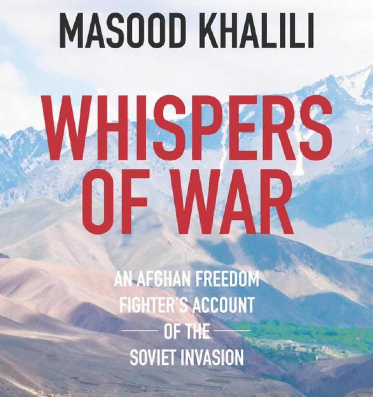 Cover of Masood Khalili's Whispers of War. (www.masoodkhalili.com)