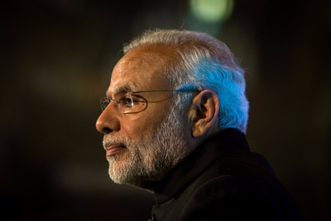Prime Minister Narendra Modi may not really be worried about the slowdown. (Rob Stothard - WPA Pool/Getty Images)