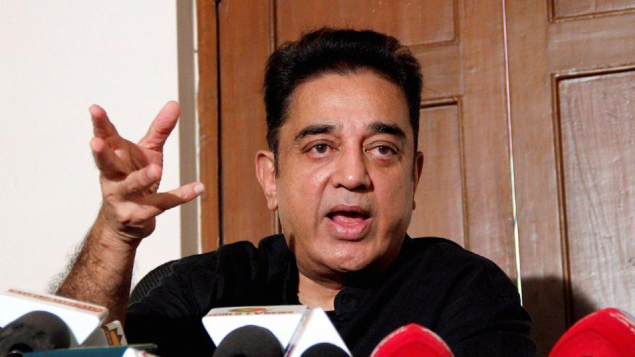 Criminal Complaint Filed Against Kamal Haasan For Proclaiming That A Hindu Was India's First Terrorist