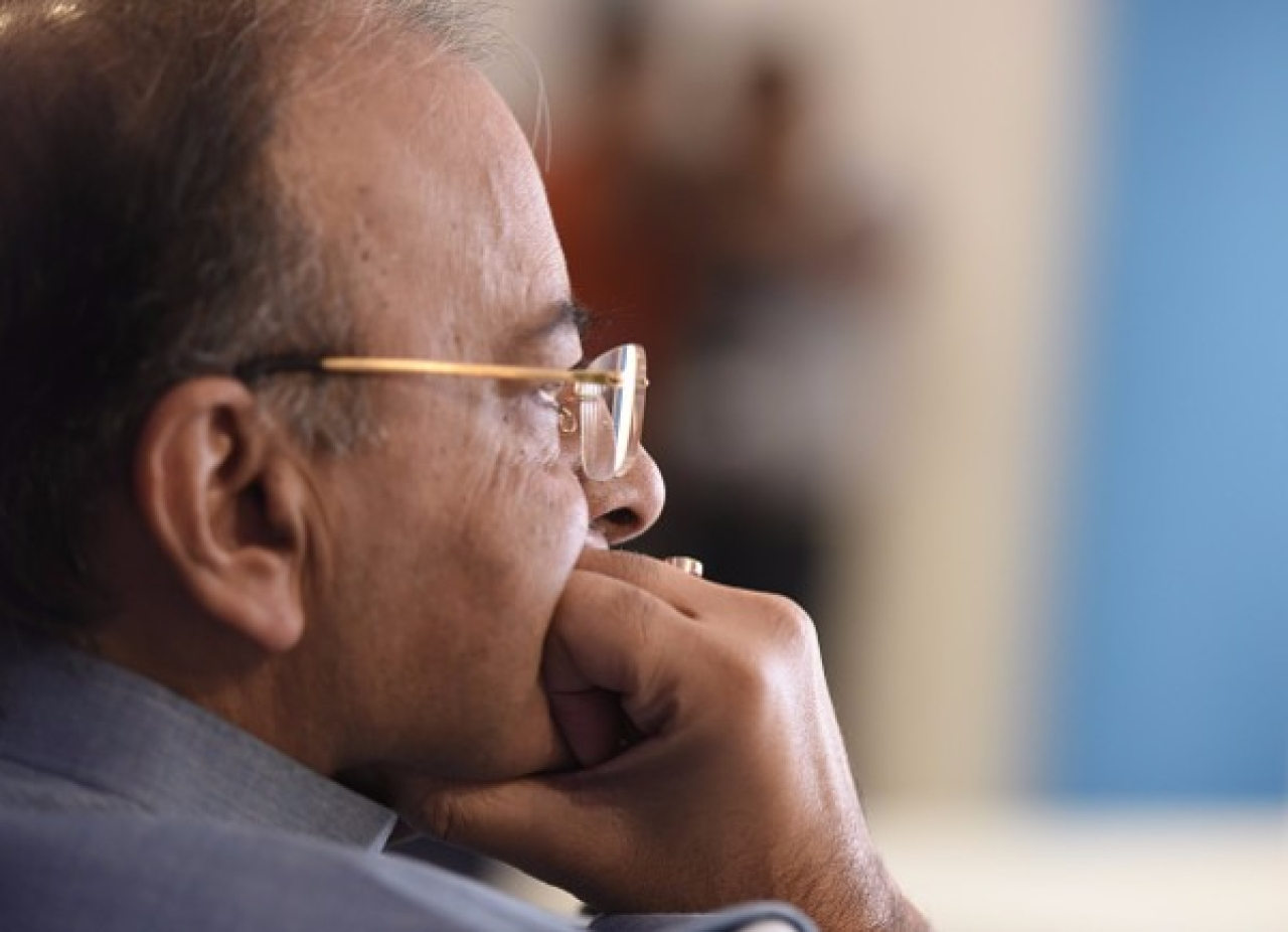 Union Minister of Finance and Corporate Affairs Arun Jaitley has a tough task ahead of him in the form of bad loans. (Sonu Mehta/Hindustan Times via Getty Images)