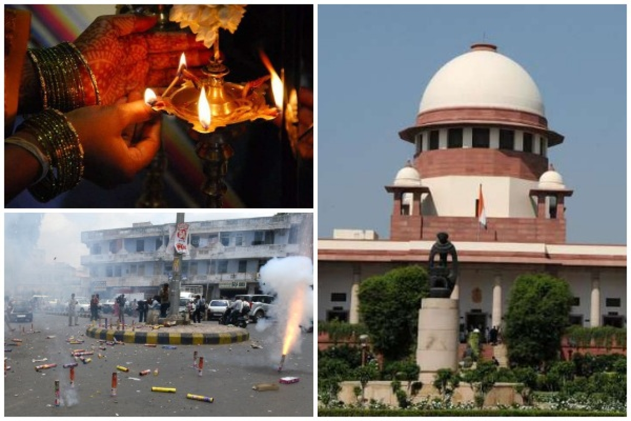 Diwali and Supreme Court's interventions.