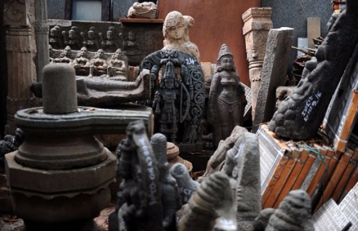 French Woman Arrested At Chennai Airport For Storing Stolen Idols Worth Crores In Puducherry Home