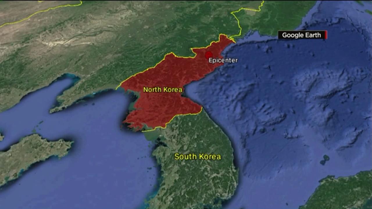 Earthquake Detected Near North Korean Nuclear Test Site