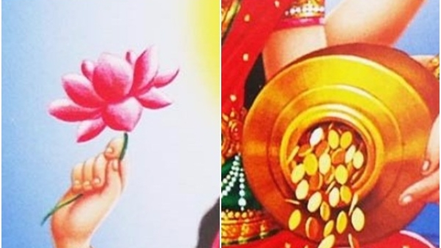 The Lotus And the Gold Coin: A Diwali Reflection on Lakshmi