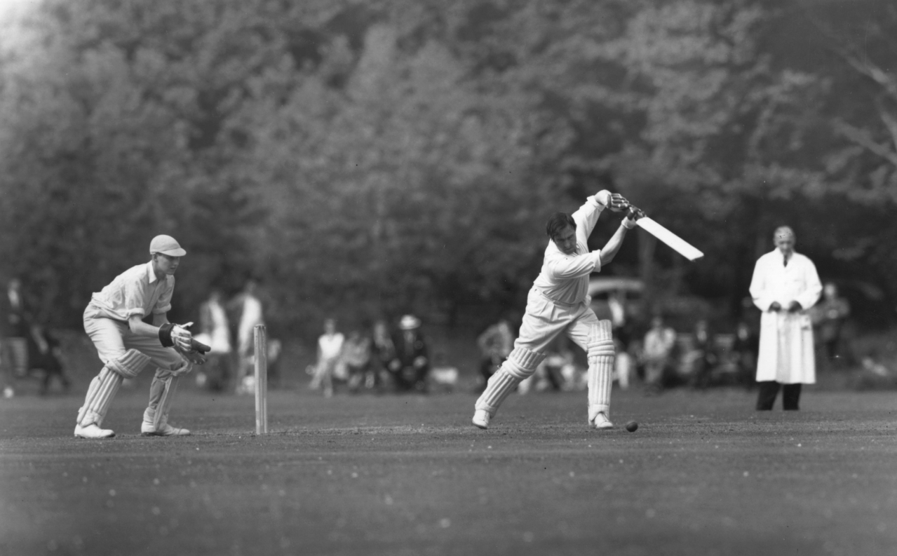 A Test cricket match in 1956 (Harrison/Getty Images)