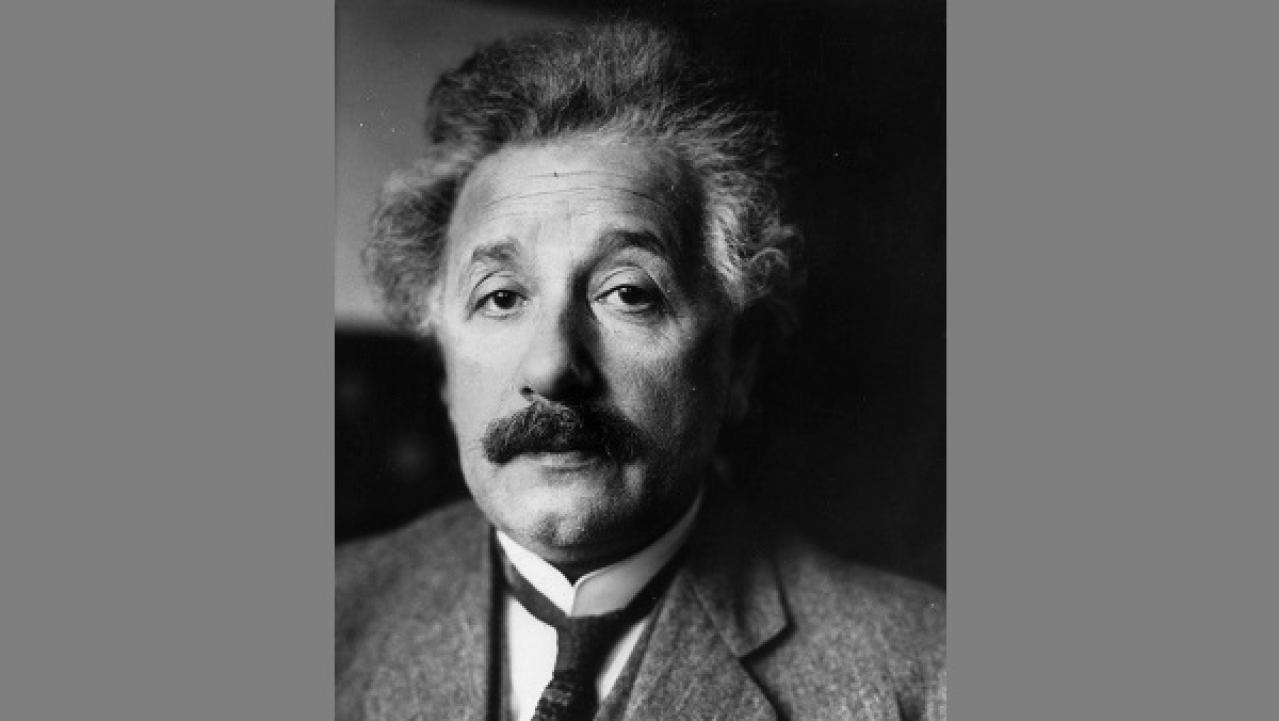 1929: German-Swiss-American physicist and mathematical genius, Albert Einstein (1879-1955). (Keystone/Getty Images)