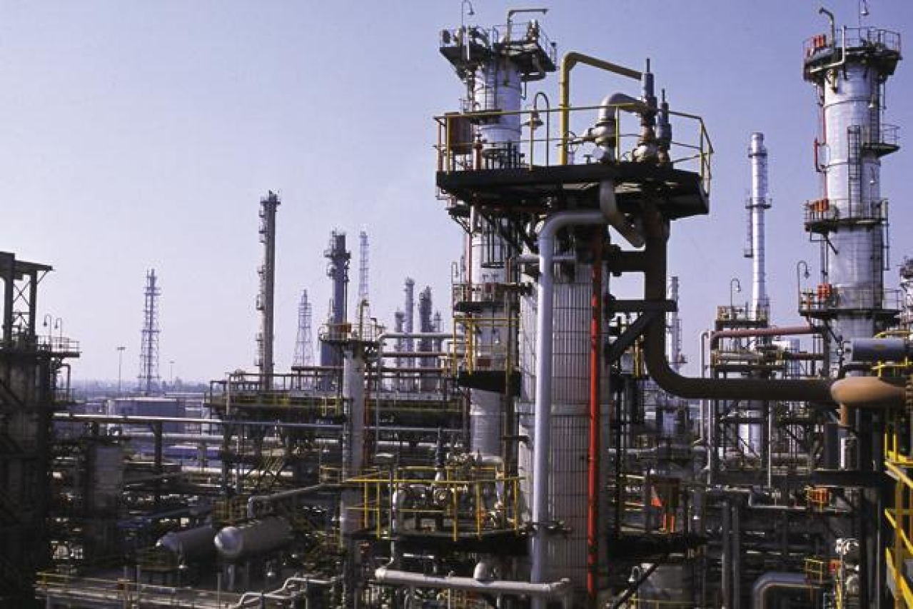 An oil refinery in India. (PTI)