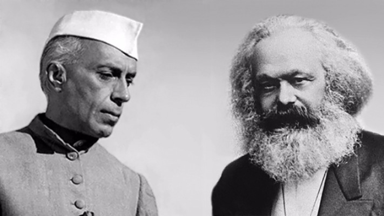 Jawaharlal Nehru and Karl Marx