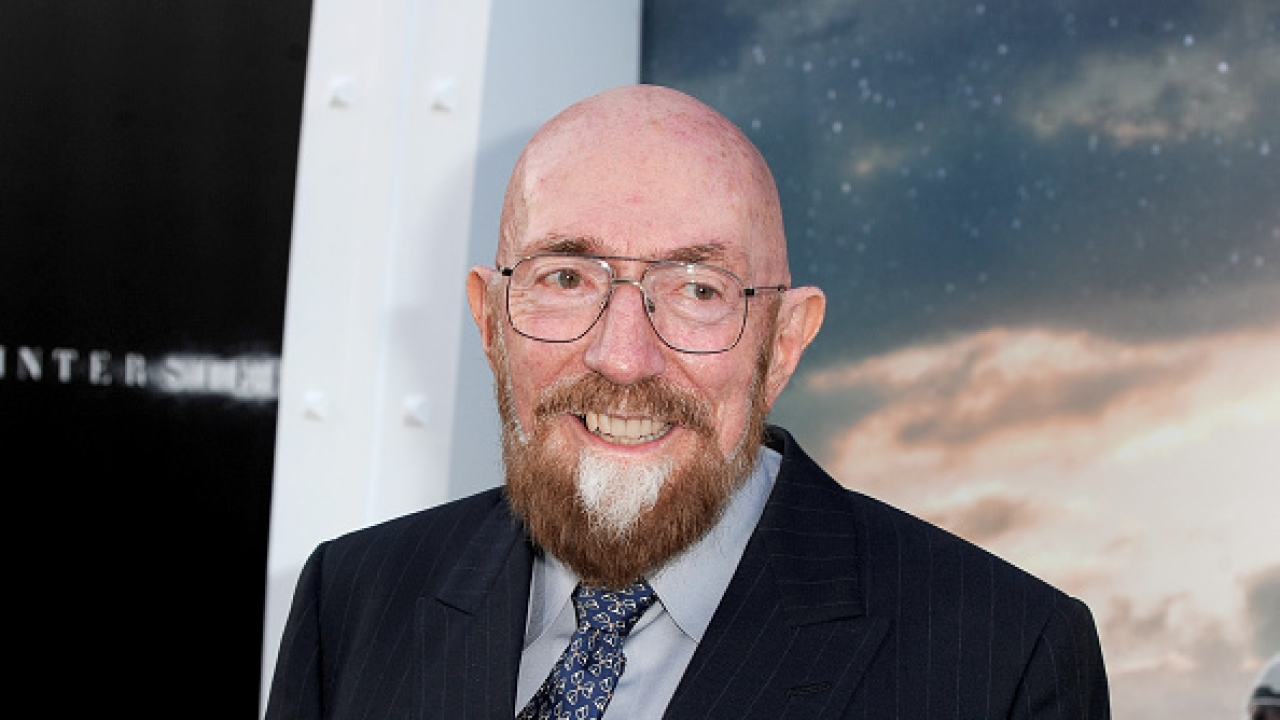 Executive producer Kip Thorne attends the premiere of Paramount Pictures' <i>Interstellar</i> at an IMAX theatre in Hollywood, California. (Kevin Winter/Getty Images)