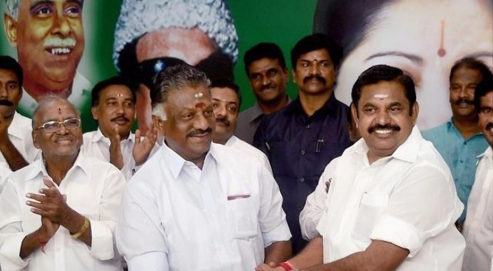 "Election Commission Gives ""Irattai Ilai"" Two Leaves Symbol To Ruling Palanisamy-Panneerselvam Faction"