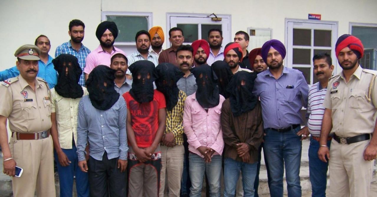 Suspects involved in Nadia nun rape case were arrested in Ludhiana. (ANI)