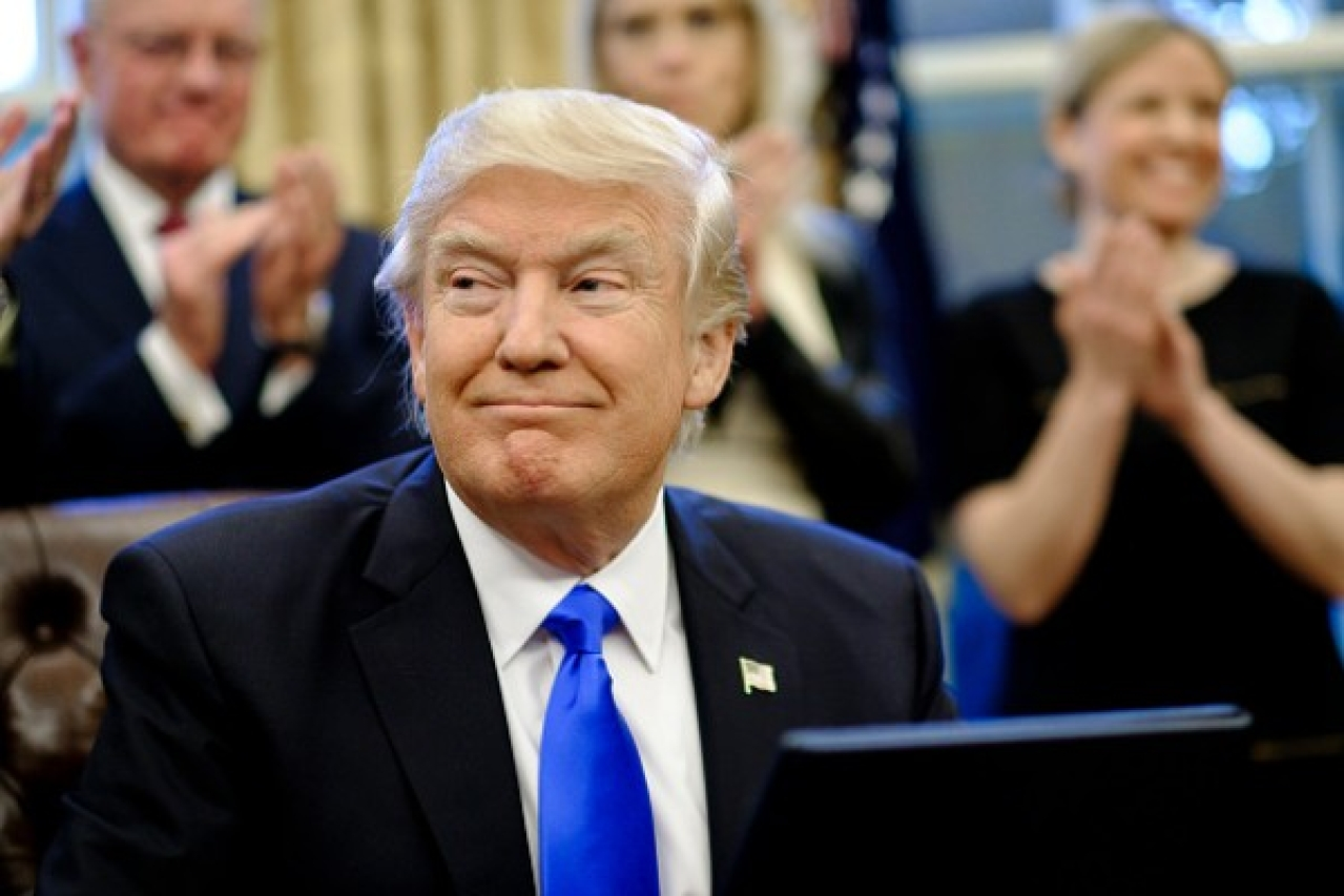 <p>The Donald Trump administration released its latest National Security Strategy document on 18 December. (Pete Marovich - Pool/Getty Images)</p>