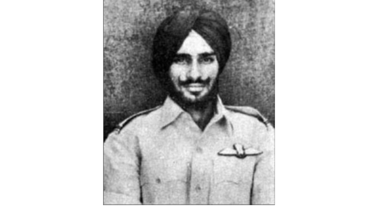<p>Flying Officer Nirmal Jit Singh Sekhon</p>