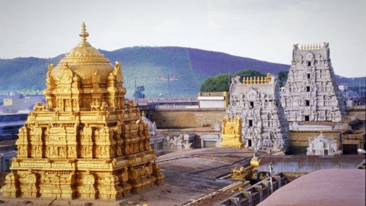 Grand Temple On Lines Of Tirupati For Lord Venkateswara Swamy In