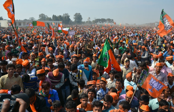 West Bengal's Siliguri Witnesses Massive BJP Rally In Support Of Citizenship Amendment Act