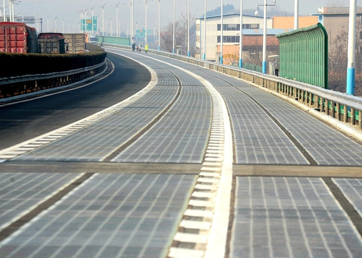 "China's Electric Road: Photo-voltaic Highway In Jinan Termed ""Success"""