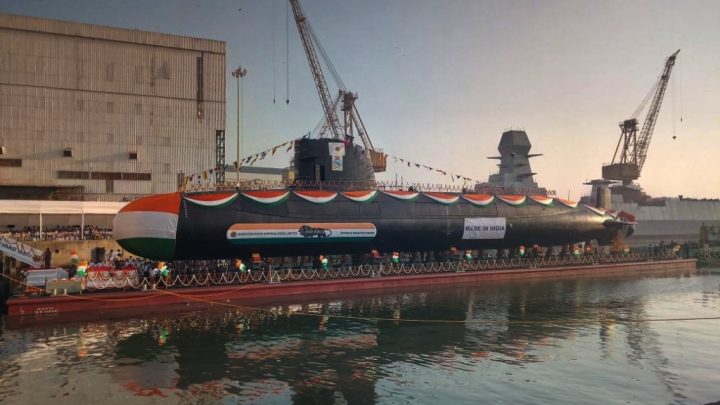 Indian Navy's Scorpene Class Submarine INS Vela Recommissioned Into Service In A New Avatar