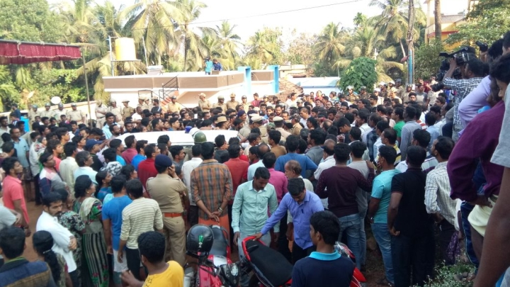 Tension Grips Mangalore Town After Police Foil Procession Plans for Murdered Activist