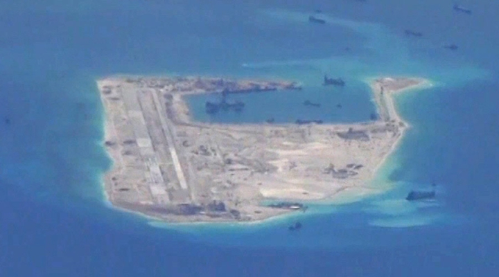 Philippines Protests Over China's Militarisation Of Disputed Reef