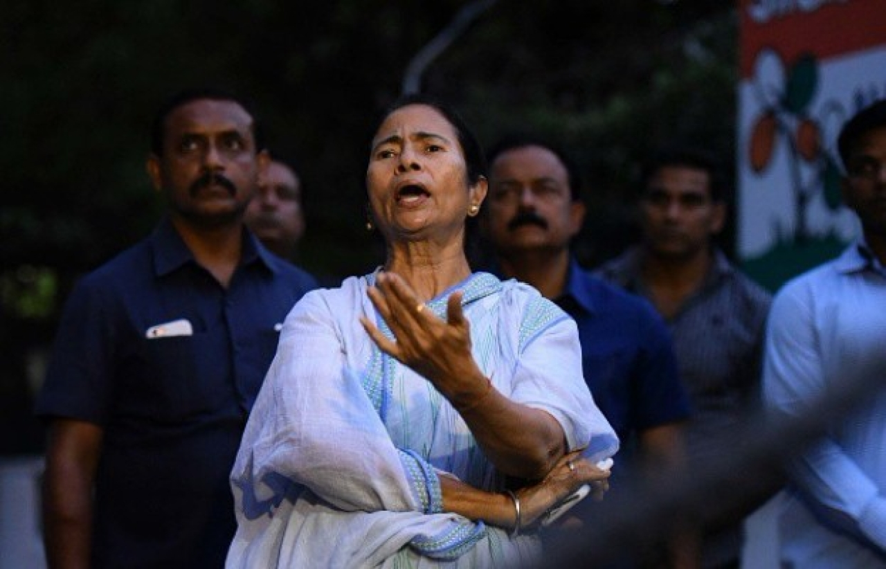 West Bengal Chief Minister Mamata Banerjee (Arun Sharma/Hindustan Times via Getty Images)