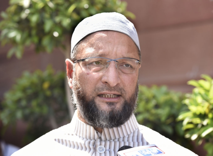 Watch: AIMIM Chief Asaduddin Owaisi Tears Citizenship Amendment Bill Inside Parliament