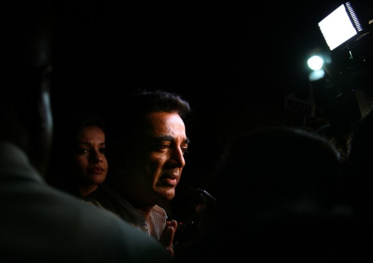 Actor Kamal Haasan (Amlan Dutta/Hindustan Times via Getty Images)