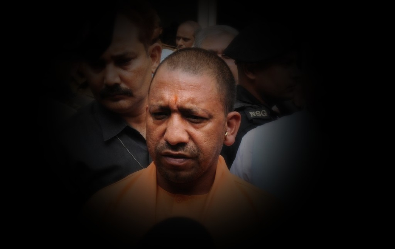 UP Chief Minister Yogi Adityanath (Subhankar Chakraborty/Hindustan Times via Getty Images)