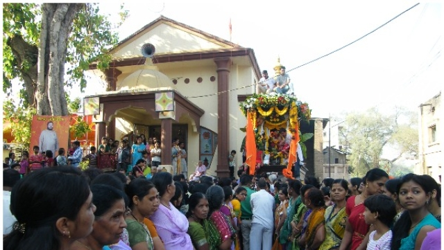 Sangamner: Where Women Of The Town Lead The Hanuman Rath Yatra